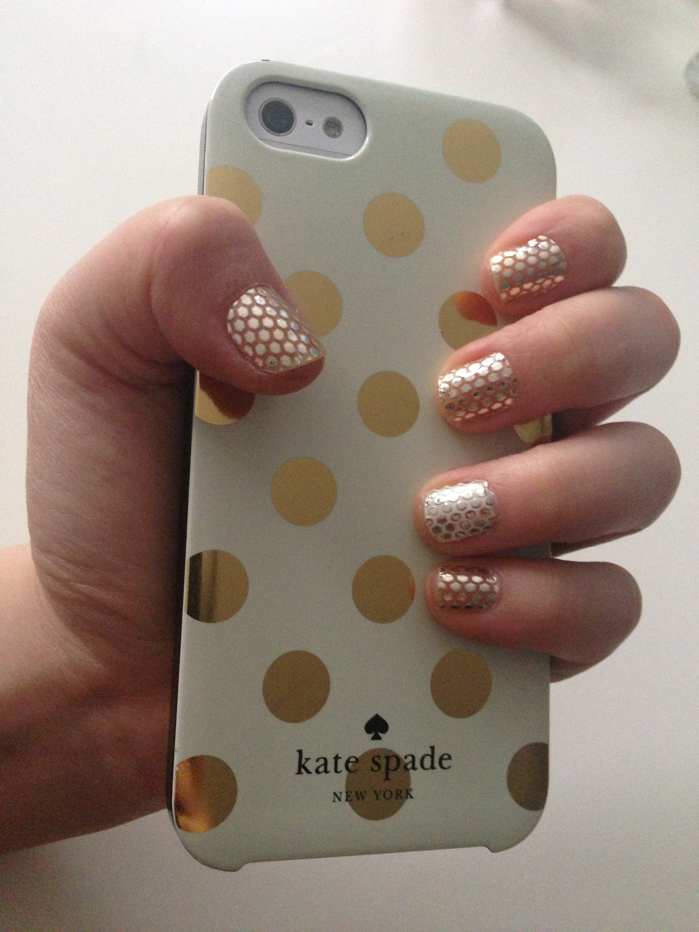 Nailed It!: Essie Sleek Stick Nail Appliqué in \'Oh My Gold ...