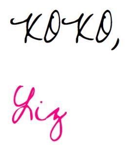 XOXO Liz