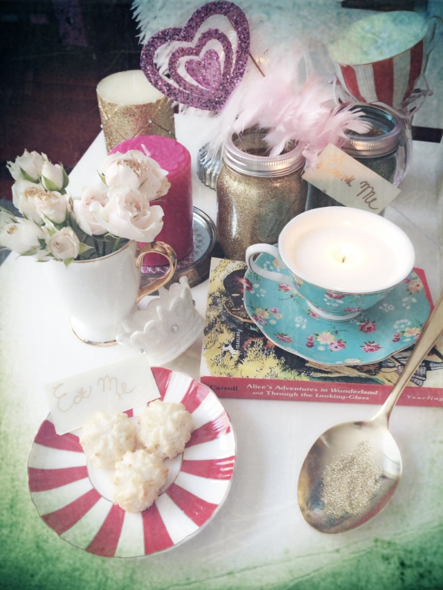Alice's Tea Cup Candles
