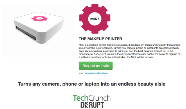 Mink, The Makeup Printer